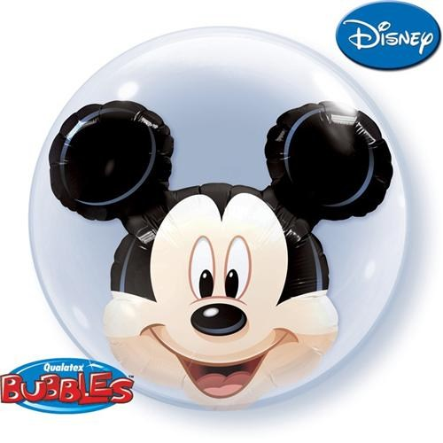 Partisepeti Mickey Mouse Double Bubble Folyo Balon