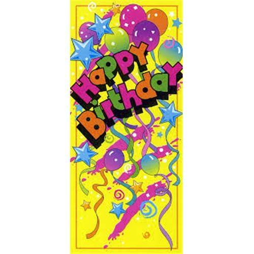 Happy Birthday Kapı Banner