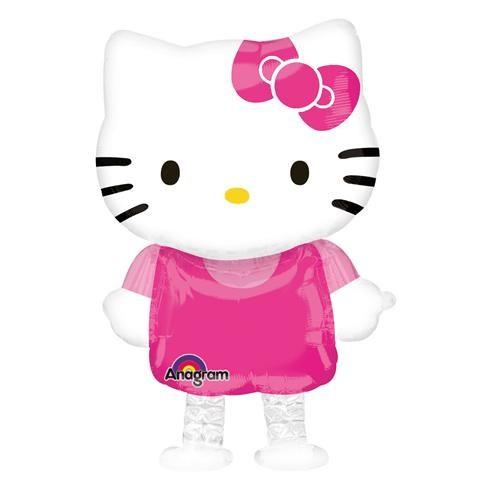 Hello Kitty Airwalkers Folyo Balon