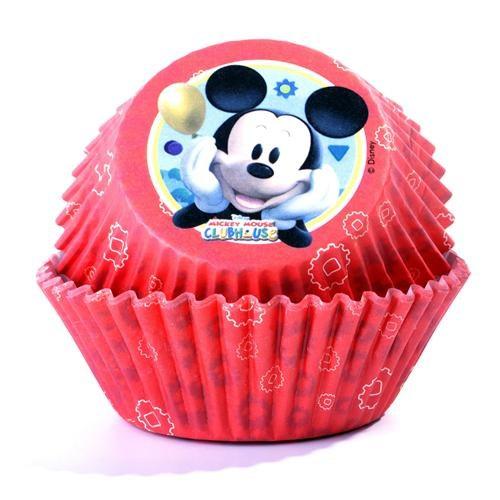 Mickey Mouse Cupcake Kabı