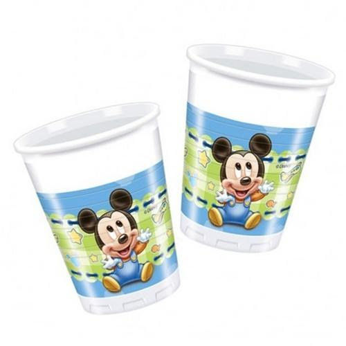 Baby Mickey Mouse Bardak 8 Li