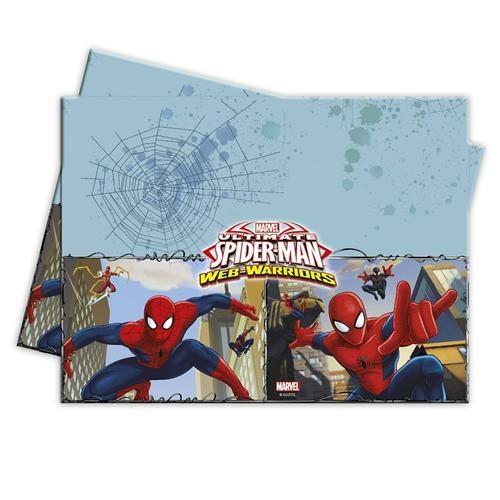 Partisepeti Spiderman Masa Örtüsü