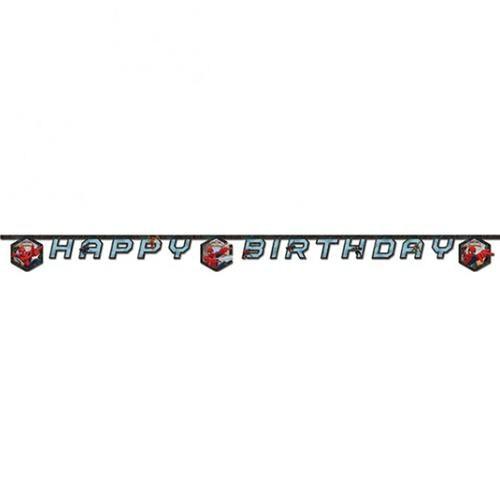 Partisepeti Spiderman Happy Birthday Banner