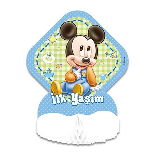 Baby Mickey Mouse Orta Süs