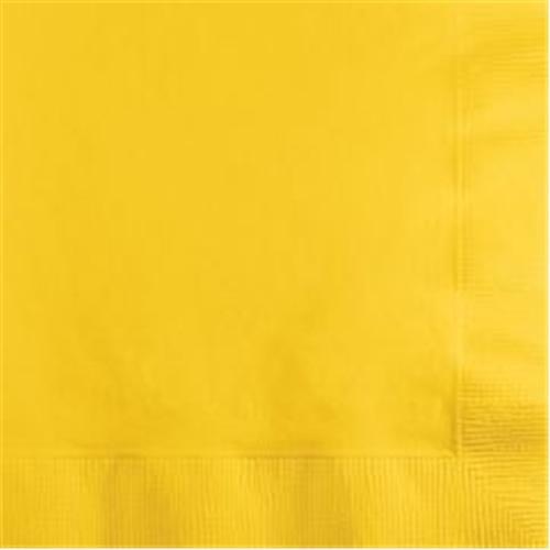 Partisepeti Sarı Peçete 20 Adet 33*33
