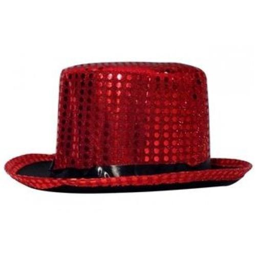Partisepeti Sihirbaz Şapka Pullu - Kırmızı