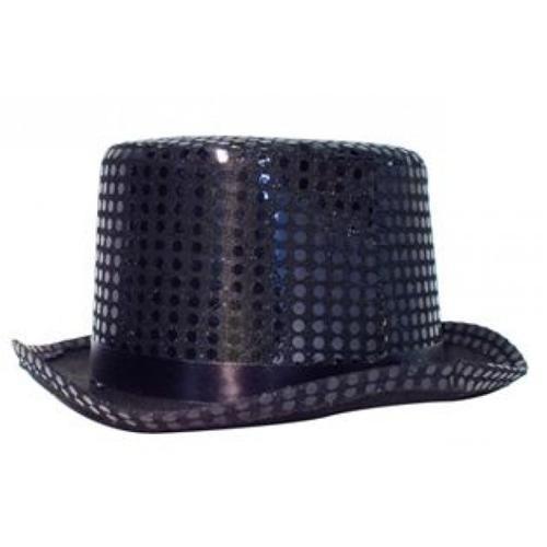 Sihirbaz Şapka Pullu - Siyah