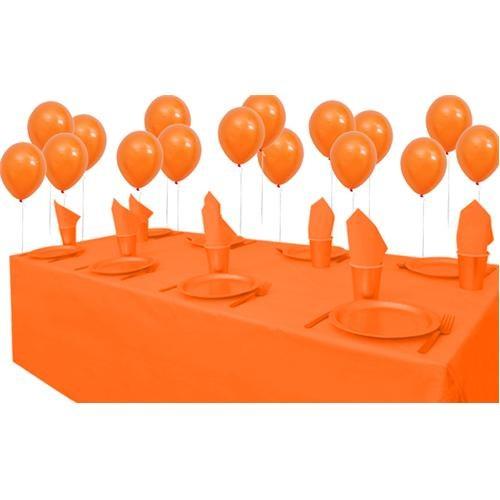 Turuncu Doğum Günü Parti Seti