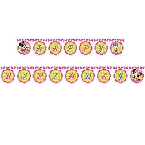 Minnie Happy Birthday Banner