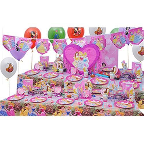 Prenses Doğum Günü Parti Seti Lüx