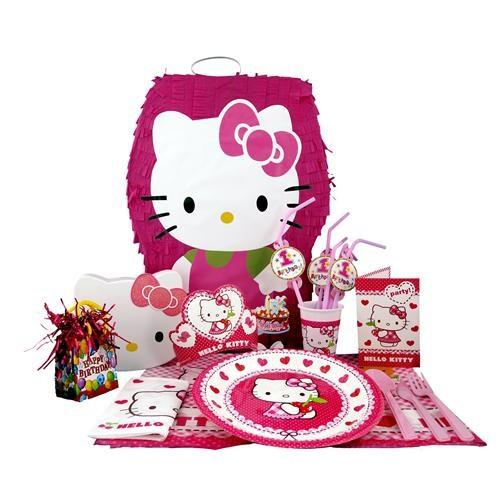 Hello Kitty Doğum Günü Parti Seti Lüx
