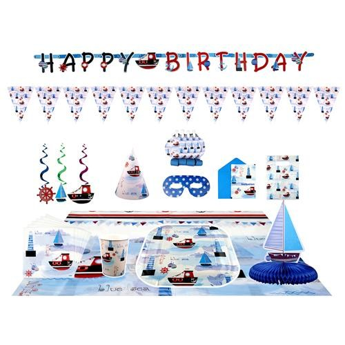 Partisepeti Denizci Doğum Günü Parti Seti