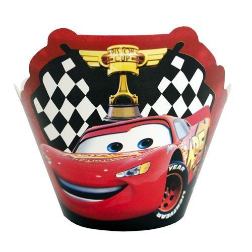 Cars Cupcake Süsü