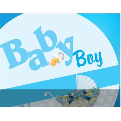 Partisepeti Baby Boy Doğum Günü Set