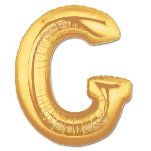 Partisepeti G Harf Gold Folyo Balon