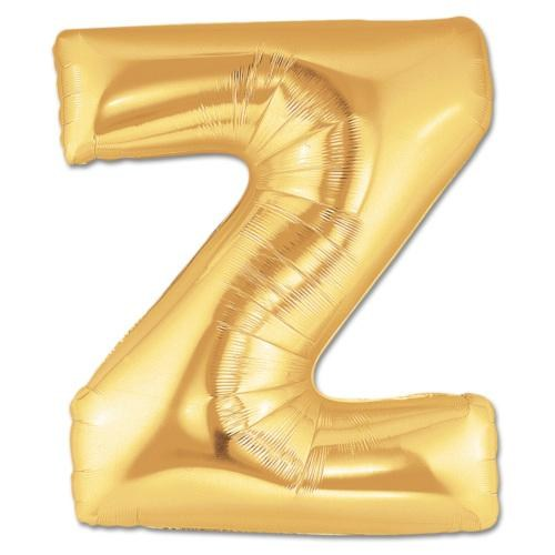 Partisepeti Z Harf Gold Folyo Balon