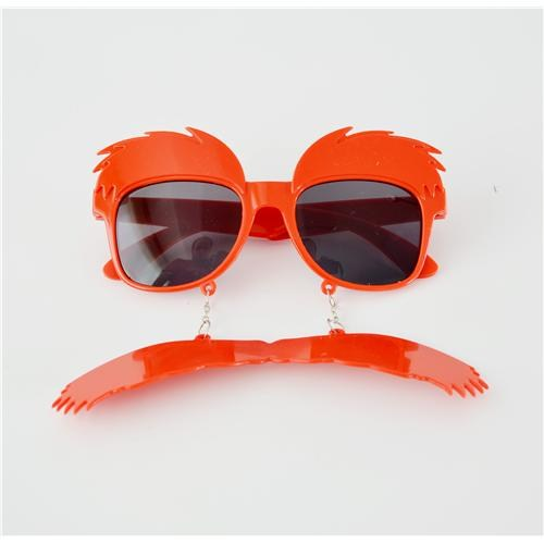 Partisepeti Kırmızı Kaş-Bıyık Gözlük