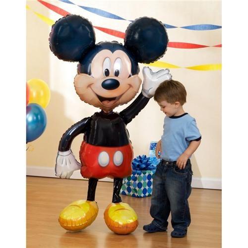 Partisepeti Mickey Airwalker Folyo Balon
