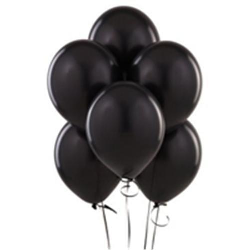 Siyah Balon 25 Adet