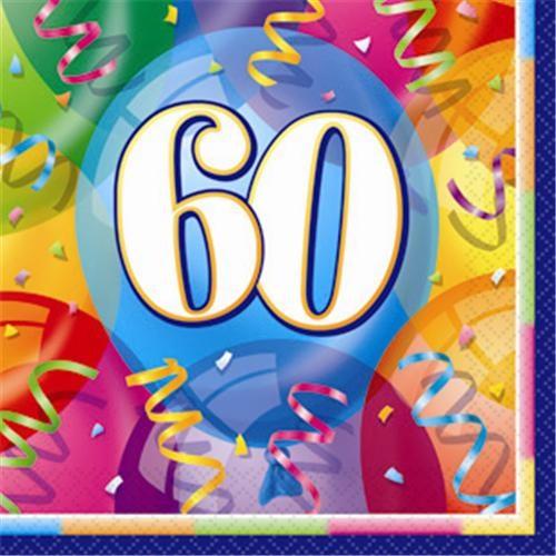Partisepeti 60 Yaş Kağıt Peçete