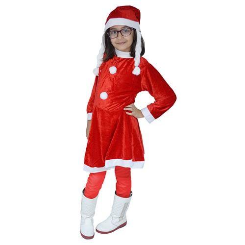 Noel Kız Çocuk Kostüm