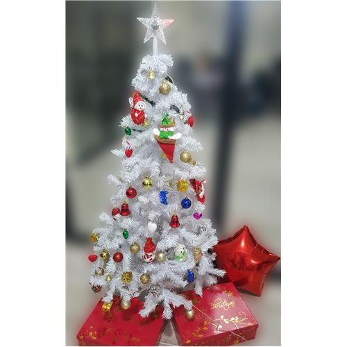 Partisepeti Yılbaşı Ağacı Beyaz