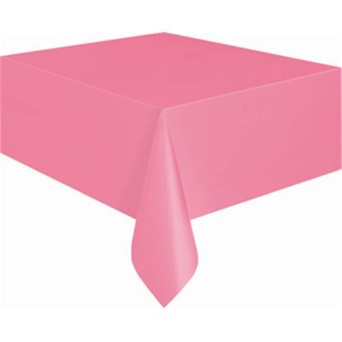 Pembe Pastel Masa Örtüsü