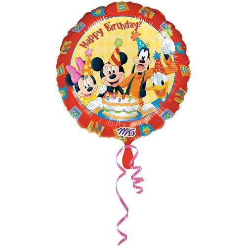 Partisepeti Mickey Mouse Ve Arkadaşları Folyo Balon