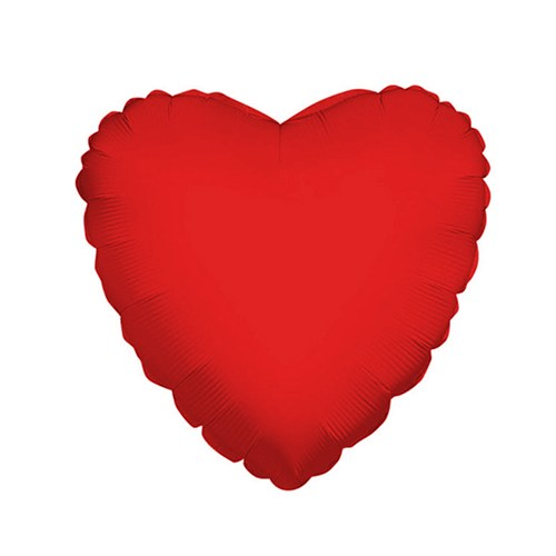 KullanAtMarket Kırmızı Kalp Folyo Balon 60 Cm