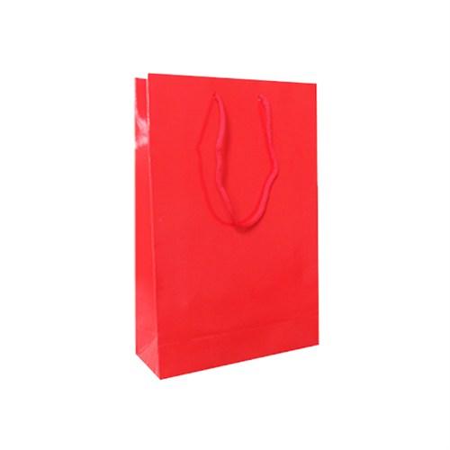 KullanAtMarket Kırmızı Karton Çanta