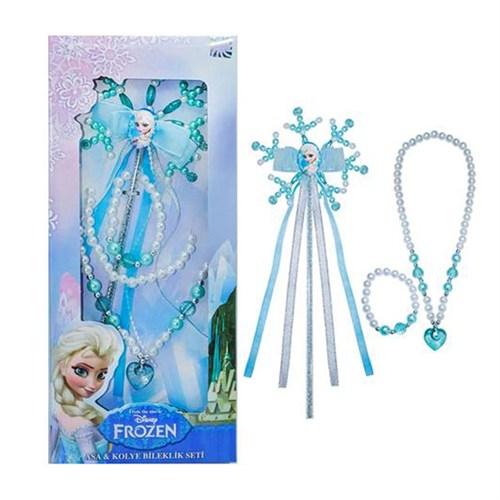 KullanAtMarket Disney KullanAtMarket Frozen Asa Kolye Bileklik Seti