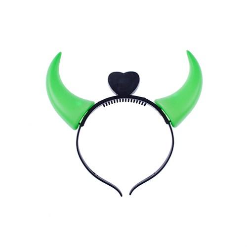 KullanAtMarket Yeşil Plastik Şeytan Taç