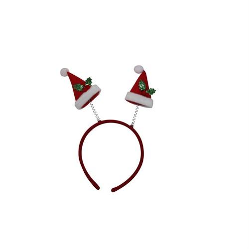KullanAtMarket Noel Şapkalı Taç