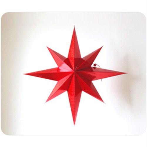 KullanAtMarket Kırmızı Yıldız Asma Süs