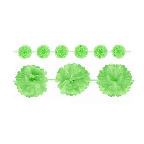 KullanAtMarket Yeşil Ponpon Uzar Süs