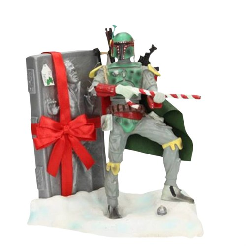 Sd Toys Star Wars: Boba Fett Santa Clause Figure