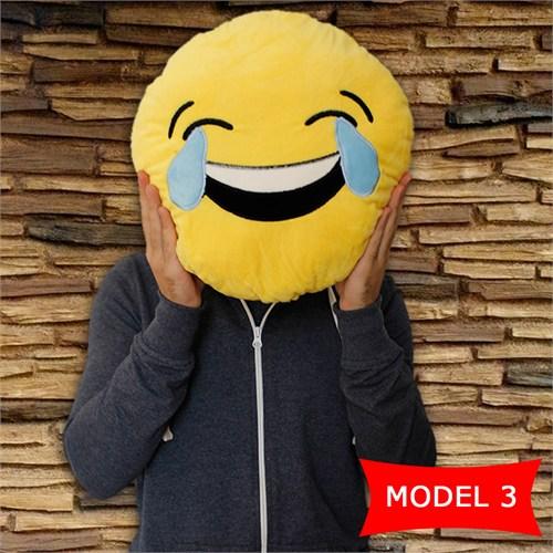 Hardymix Gülen Surat Emoji Yastık