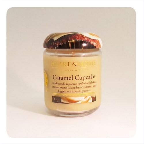 H&H Büyük Mum Caramel Cupcake