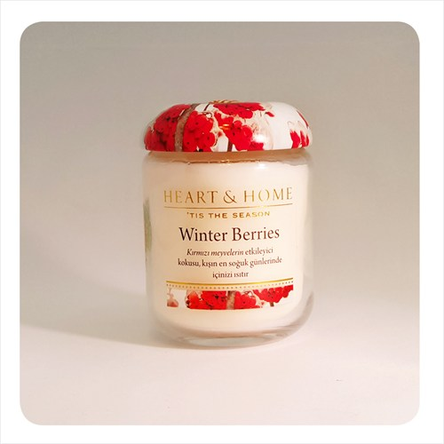 H&H Küçük Mum Winter Berries