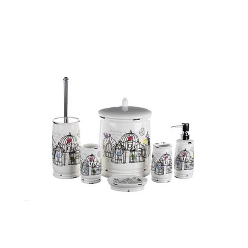 İhouse Porselen Banyo Seti 6 Lı