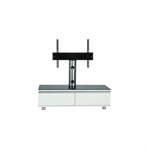 Achill Cf 1202 A Askılı Beyaz Tv Sehpası 32''-55''