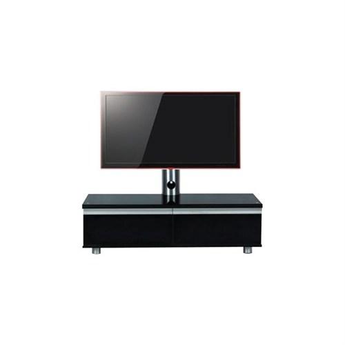 Achill Cf 1202 A Askılı Siyah Tv Sehpası 32''-55''