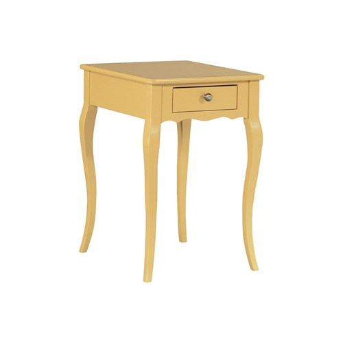 Woodenbend Lena Sarı Komodin