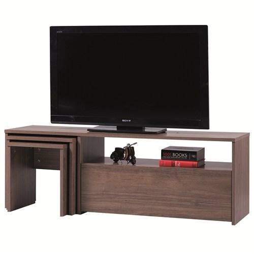 Carla Home Arena Zigonlu Ceviz Tv Sehpası