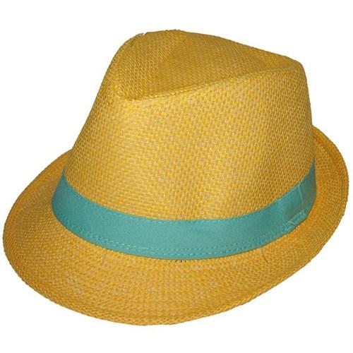 Pandoli Fötr Kumaş Şapka