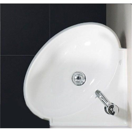 Turkuaz Mini Köşe Lavabo 45 Cm