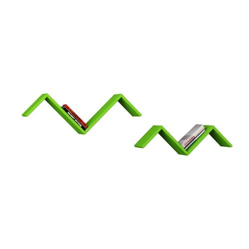 Decortie Martı Raf Serisi Yeşil