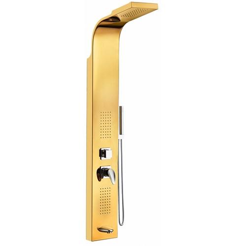 Hydrobas Deniz Hidromasaj Duş Paneli Gold