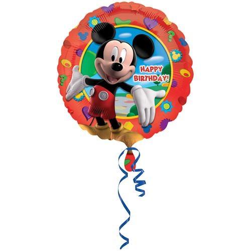 Partisepeti Mickey Mouse Happy Birthday Folyo Balon