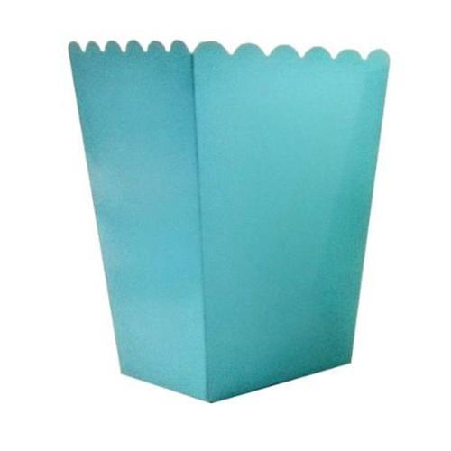 Partisepeti Mavi Düz Popcorn Kutusu